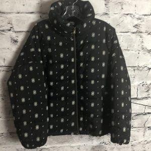 Sonoma Black Aztec Design Jacket
